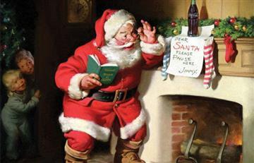 El día que Coca Cola reinventó a Papá Noel y lo volvió famoso mundialmente