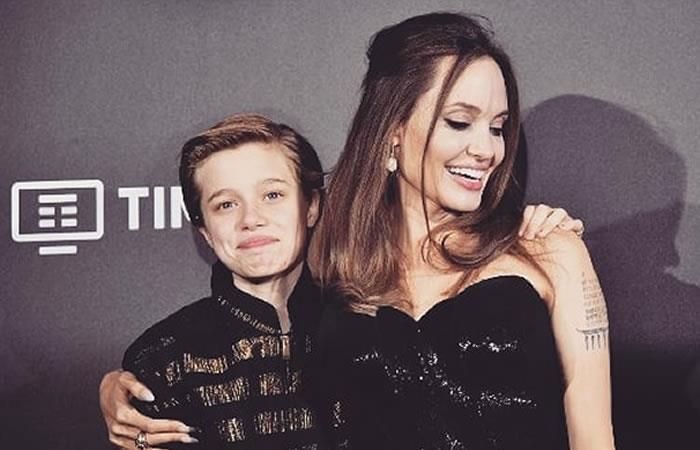 Así luce la hija de Angelina Jolie y Brad Pitt luego del tratamiento de cambio de género