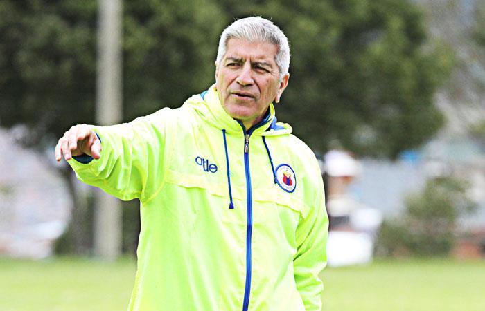 Zambrano dirigió a Deportivo Pasto desde octubre de 2019. Foto: Twitter