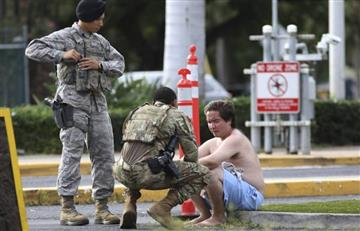 Tras asesinar a dos personas, militar se suicida en base de Pearl Harbor