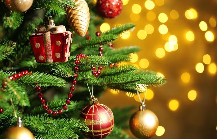 El árbol de Navidad es el ícono clásico de la época decembrina. Foto: Shutterstock