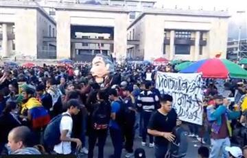 Vuelve a llenarse la Plaza de Bolívar, mientras Duque sigue implementando reformas