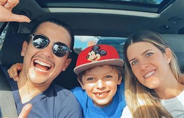 La tierna foto con la que Sebastián Vega anunció que será papá por segunda vez