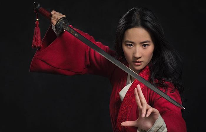 Actriz Liu Yifei da vida a Mulan. Foto: Instagram