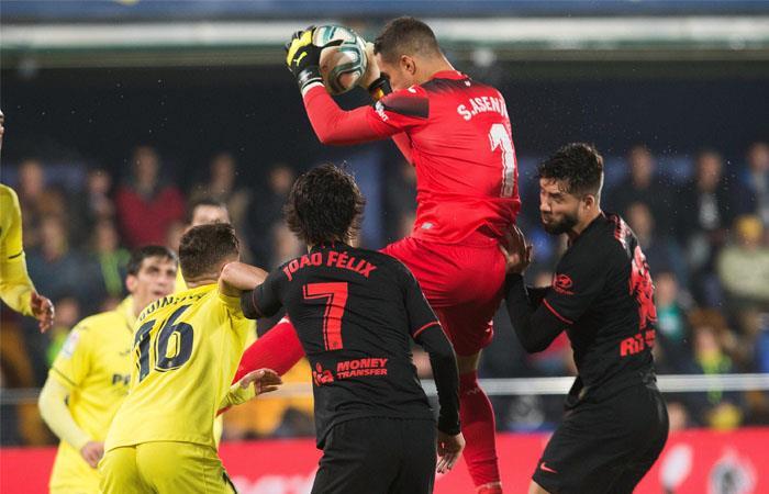 Villarreal y Atlético de Madrid no pasaron del empate. Foto: EFE