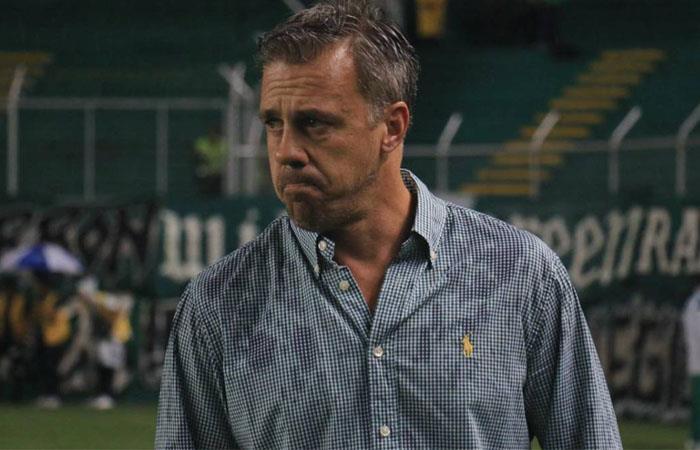 Pusineri llevó a Cali a la final de la Copa Águila y las semifinales de la Liga. Foto: Twitter