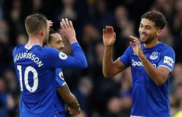 Sin Yerry Mina, Everton volvió a la victoria ante Chelsea