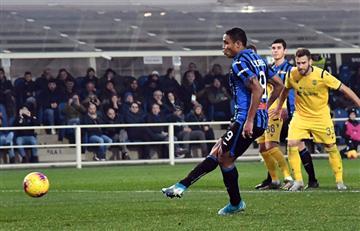 [VIDEO] El gol de Muriel que salvó a Atalanta frente a Hellas Verona