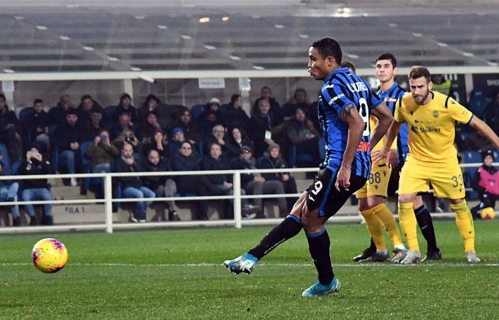 Muriel es el tercer máximo goledor de la liga italiana. Foto: EFE