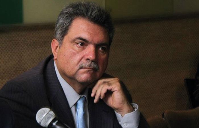 Olano fue capturado en 2018 en medio del escándalo de corrupción. Foto: Twitter