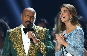 "Ofensiva ""broma"" de Steve Harvey sobre Colombia en Miss Universo"