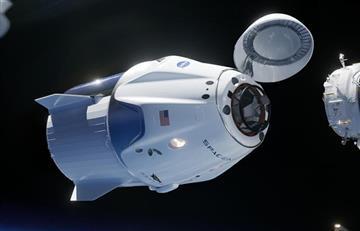 Estación Espacial recibió a la cápsula Dragon con material científico y biológico