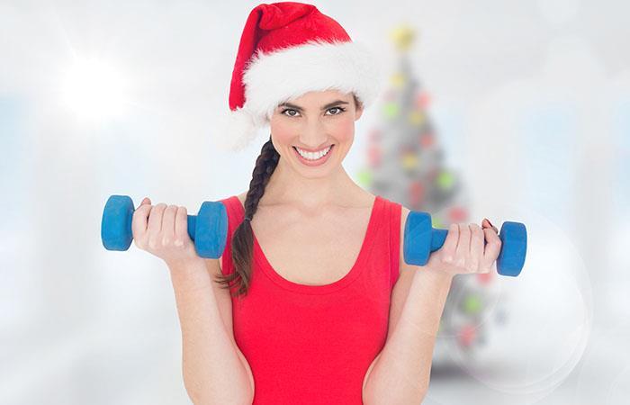 Ten tu cuerpo listo para recibir las vacaciones de navidad