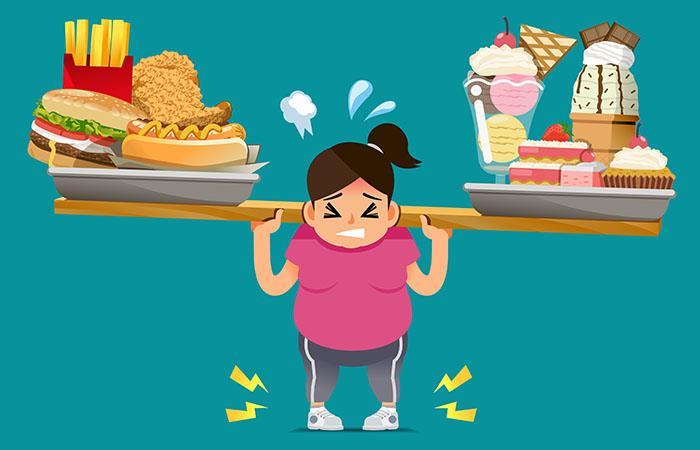 La obesidad se da por la mala alimentación. Foto: Shutterstock