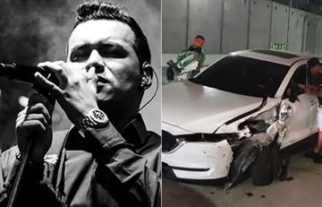 Familia de Yeison Jiménez sufrió un aparatoso accidente de tránsito