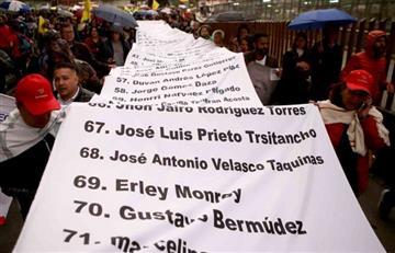 Colombia: Más de 80 defensores de DD.HH. han sido asesinados en este 2019