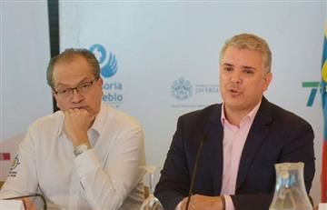 Fuerte discusión entre procurador Carrillo e Iván Duque por el Paro Nacional
