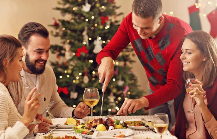 En Navidad y Año Nuevo también se puede comer saludable. Foto: Shutterstock