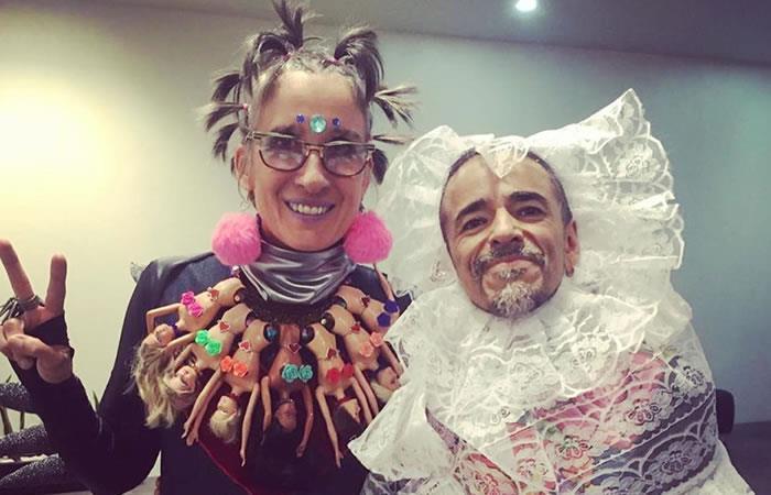 Andrea Echeverri y Rubén Albarrán. Foto: Instagram
