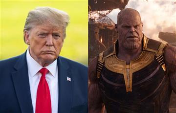 """[VIDEO] """"Yo soy inevitable"""": Donald Trump puso su cara en escena de 'Thanos' para hacer campaña política"""