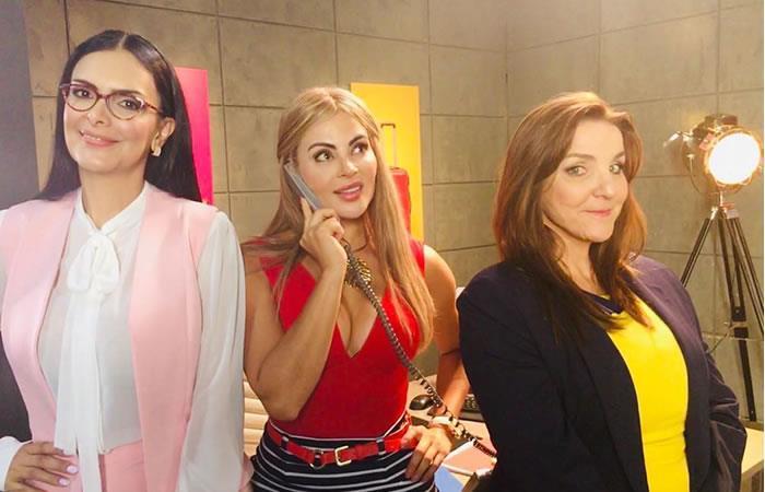 Aura María, Sandra y Berta regresan a la televisión. Foto: Instagram