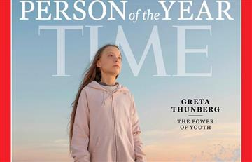 Greta Thunberg, persona del año para la revista Time