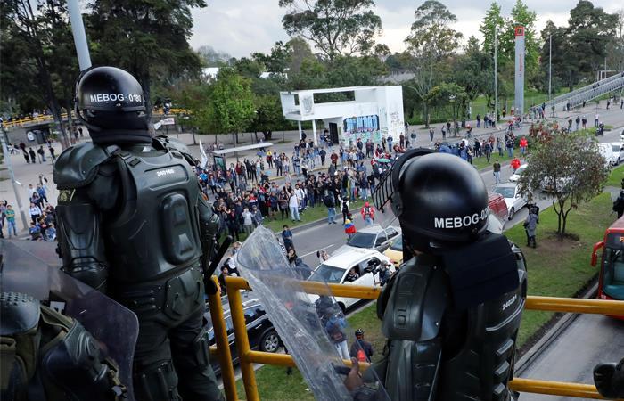 Listo el proyecto de ley que buscar regular las protestas en Colombia