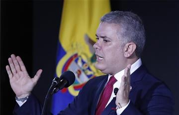 """Iván Duque """"cierra"""" la puerta a una posible negociación con el ELN"""