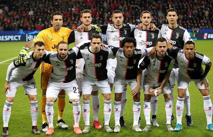 Cuadrado en la nómina titular de Juventus. Foto: EFE