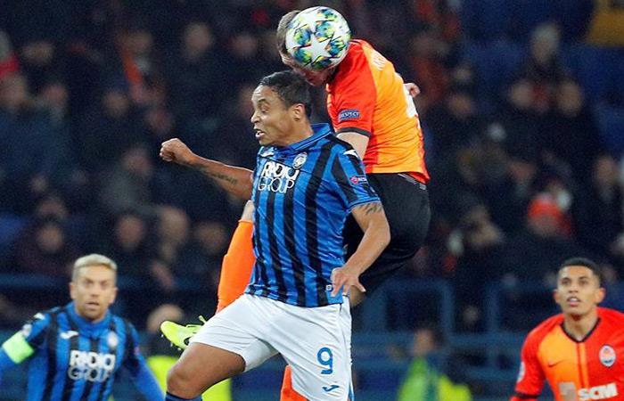 Resultados Champions League partido Shakthar vs. Atalanta Luis Muriel Duván Zapata octavos de final