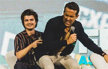[VIDEO] Ryan Reynolds se salvó de una estampida en la Comic Con de Brasil