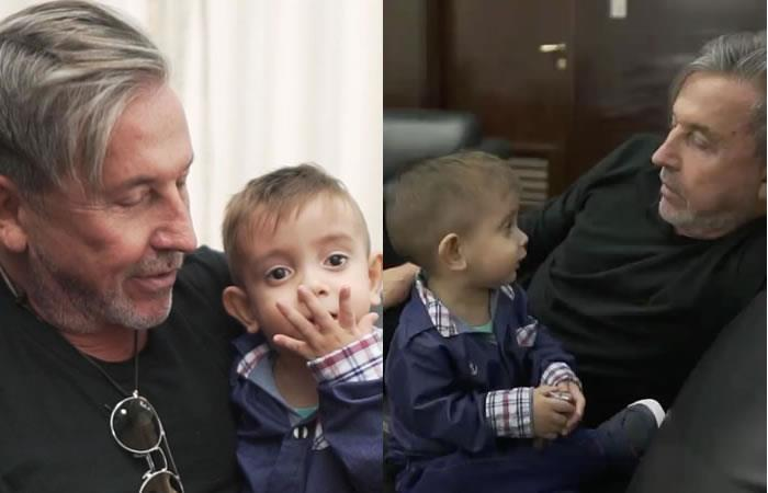 Fallece 'sobrino' de 4 años de Ricardo Montaner
