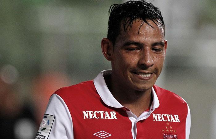 Wilder Medina fue gran figura de Santa Fe en la Copa Libertadores de 2013. Foto: Twitter