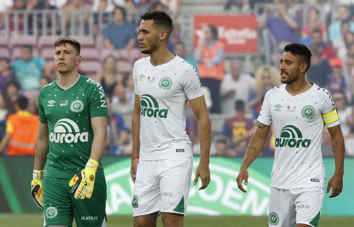 Solo tres futbolistas sobrevivieron al accidente de Chapecoense. Foto: Twitter