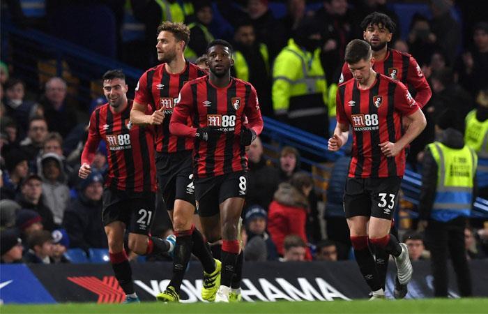 Jéfferson Lerma fue figura en la victoria de Bournemouth ante Chelsea