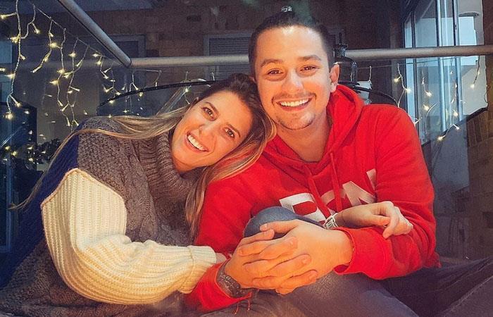 Sebastián Vega y Valentina Ochoa. Foto: Instagram