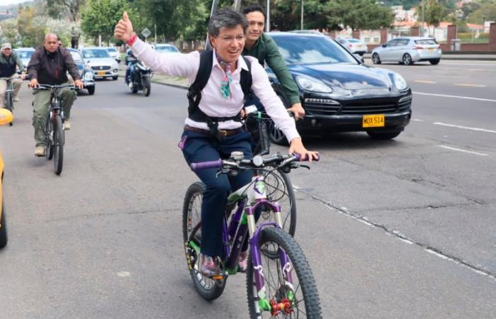 En bicicleta y con un picnic,así será la posesión de Claudia López