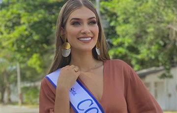 """Video de la nueva Señorita Colombia por el que aseguran está """"pasadita"""" de kilos"""