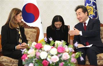 En busca de tecnología: Así ha sido la visita de Marta Lucía Ramírez a Corea del Sur