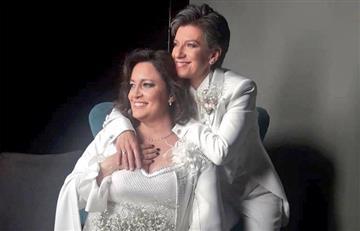 """[FOTOS] """"Acepto"""": Claudia López contrajo matrimonio con Angélica Lozano"""
