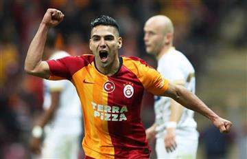 [VIDEO] Falcao volvió al gol con Galatasaray