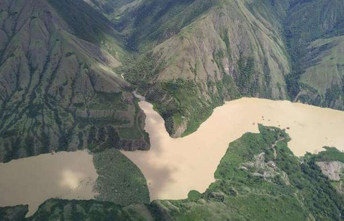 Hidroeléctrica ubicada en Ituango, Antioquia. Foto: Twitter