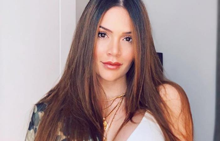 Lina Tejeiro compartió todo lo que fue la prueba de vestido de novia. Foto: Instagram