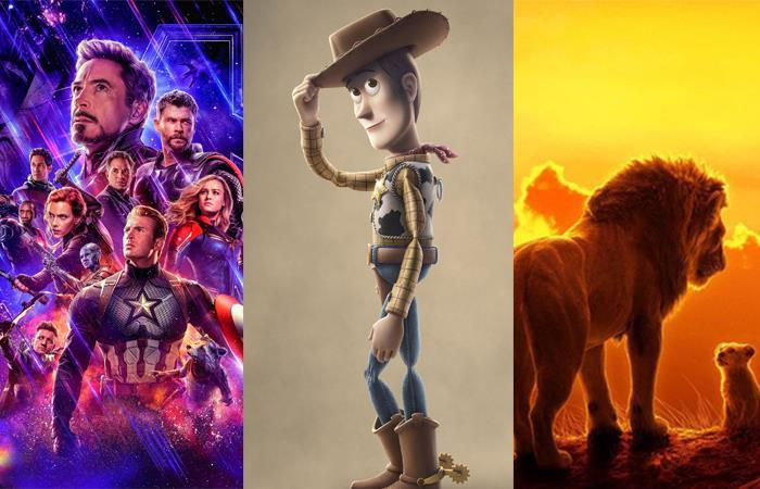 El 2019 fue un año histórico para el cine mundial. Foto: Twitter