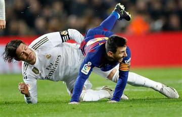 El clásico Barcelona-Real Madrid se fue sin goles pero con muchas emociones