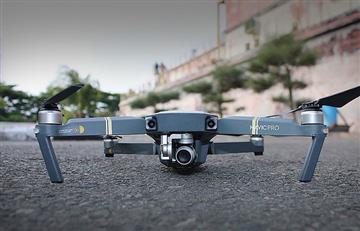 Drones facilitan 'monitoreo' del tráfico en Medellín