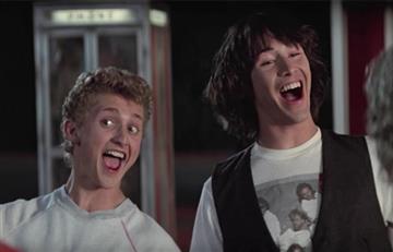 """Revelan las primeras imágenes de Keanu Reeves en su regreso a """"Bill & Ted's"""""""
