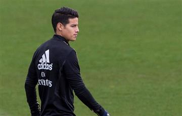 [VIDEO] James Rodríguez regresa a entrenamientos con el equipo principal de Real Madrid