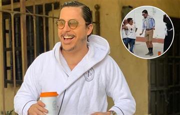 [VIDEO] Por fin: 'Juanpis González' se encontró con joven que se hizo viral por imitarlo