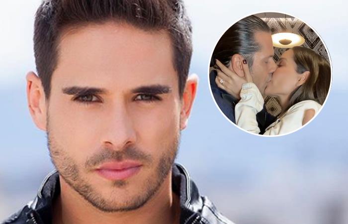 El beso entre Carmen Villalobos y Gregorio Pernía fue fuera del set. Foto: Instagram